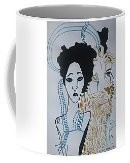 Contemporary Our Lady The Sorrowful Mother Coffee Mug