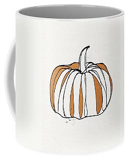 Contemporary Pumpkin- Art By Linda Woods Coffee Mug