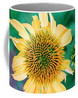 Contemporary Yellow And Green Floral Photo Art 443 Coffee Mug