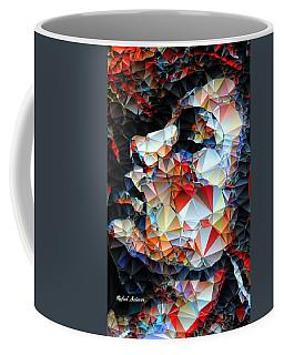 Coffee Mug featuring the digital art Content by Rafael Salazar