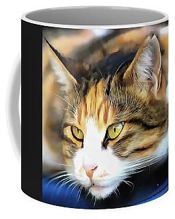 Contented Cat  Coffee Mug