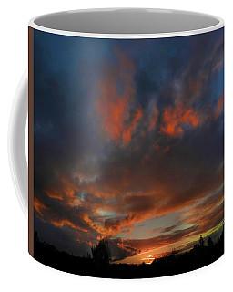 Contorted Sunset Coffee Mug