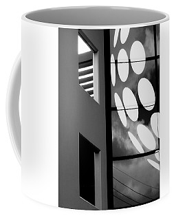 Contrast In Abstract Black And White. Coffee Mug