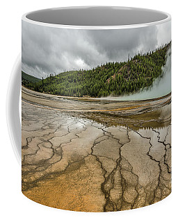 Contrasts At Midway Geyser Basin Coffee Mug