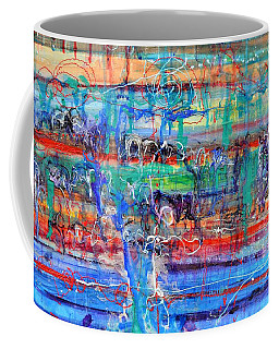 Convection Diffusion Coffee Mug by Regina Valluzzi