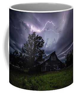 Coffee Mug featuring the photograph Convergence  by Aaron J Groen