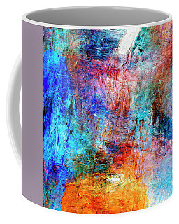 Coffee Mug featuring the painting Convergence by Dominic Piperata