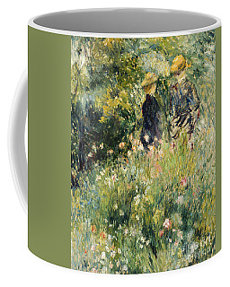 Conversation In A Rose Garden Coffee Mug