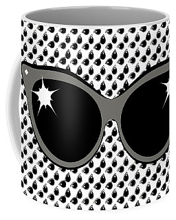 Cool 60's Sunglasses Grays Coffee Mug