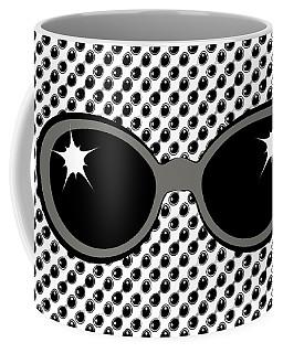 Cool 70's Sunglasses Grays Coffee Mug
