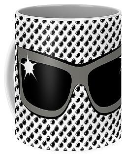 Cool 90's Sunglasses Grays Coffee Mug