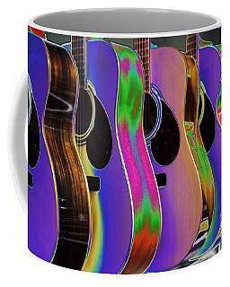 Cool Acoustic Guitars Coffee Mug