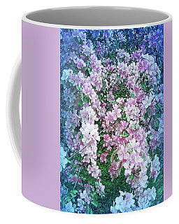 Coffee Mug featuring the photograph Cool Blue Beautiful Blossoms by Aimee L Maher Photography and Art Visit ALMGallerydotcom
