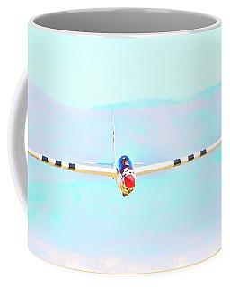 Cool Blue Sky Sailing Coffee Mug