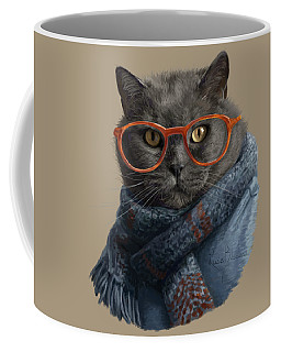 Cool Cat Coffee Mug