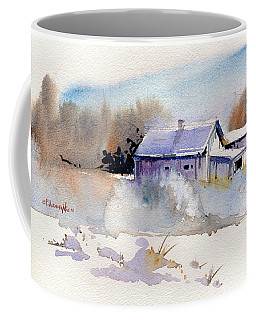 Cool Country Barn Coffee Mug