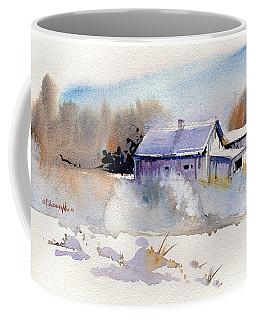 Cool Country Barn Coffee Mug