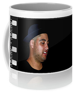 Coffee Mug featuring the photograph Cool Dude On Film By Kaye Menner by Kaye Menner