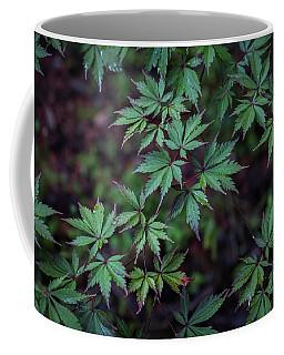 Cool Green Leaves Coffee Mug