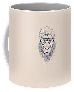 Cool Lion Coffee Mug