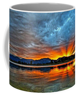 Coffee Mug featuring the photograph Cool Nightfall by Eric Dee