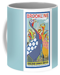 Coolidge Corner Critics Coffee Mug