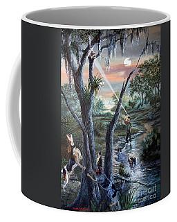 Coon Huntin The Backwoods- Coffee Mug
