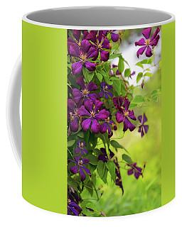 Copious Clematis Coffee Mug