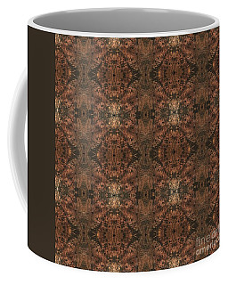 Copper Abstract 1 Coffee Mug