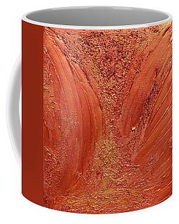 Copper Abstract Coffee Mug