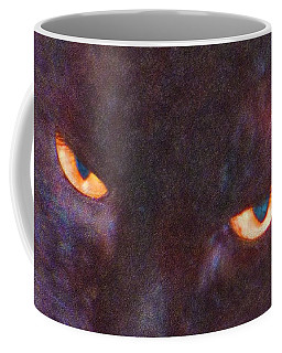 Copper Eyed Midnight Coffee Mug