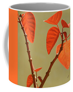 Copper Plant Coffee Mug