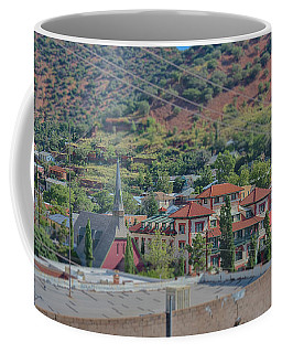 Coffee Mug featuring the photograph Copper Queen Hotel by Dan McManus