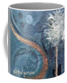 Copper Swirl Horizon Palm Coffee Mug