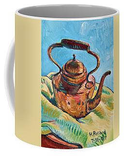 Copper Teapot Coffee Mug