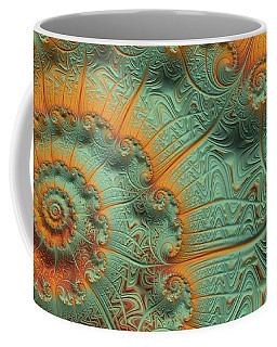 Copper Verdigris Coffee Mug
