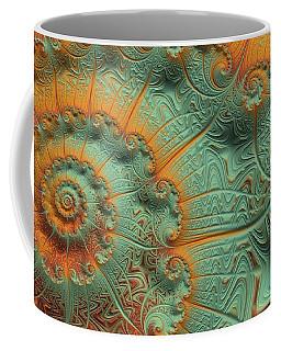 Copper Verdigris Coffee Mug