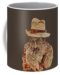 Coppershine Popcorn Bust - T-shirt Transparency Coffee Mug