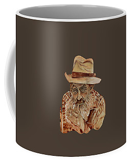 Coppershine Popcorn Bust - T-shirt Transparency Coffee Mug