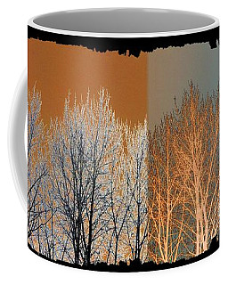 Coffee Mug featuring the digital art Coppertone Fusion by Will Borden