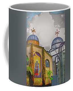Coptic Church Rebirth Coffee Mug by Joseph Hollingsworth