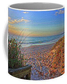 Coquina Beach By H H Photography Of Florida  Coffee Mug by HH Photography of Florida