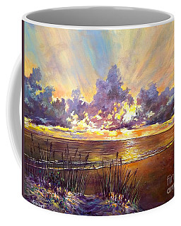 Coquina Beach Sunset Coffee Mug