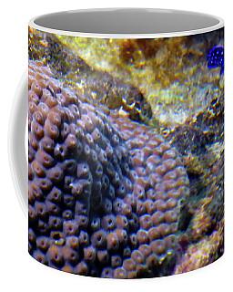 Coffee Mug featuring the digital art Coral Art Cu 3 by Francesca Mackenney