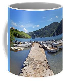 Coral Bay Dinghy Dock Coffee Mug