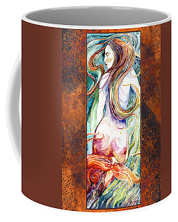 Coral Mermaid Coffee Mug