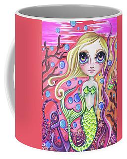 Coral Reef Mermaid Coffee Mug