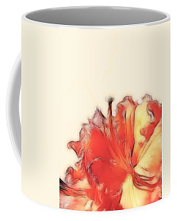 Coral Rhododendron Coffee Mug by Lynn Bolt