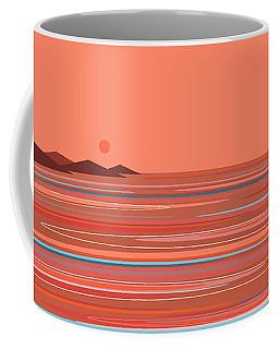 Coral Sea Coffee Mug by Val Arie