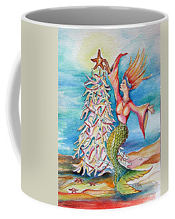 Coral Tree Mermaid Coffee Mug